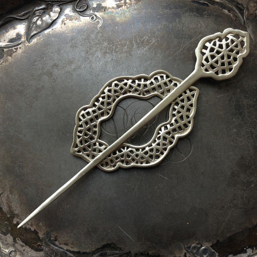 *Moroccan Windows Shawl Pin*