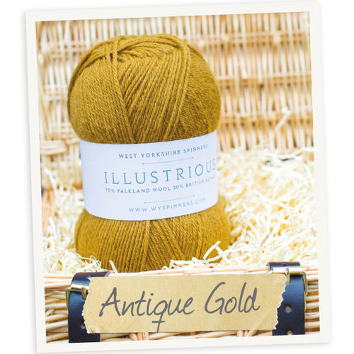 *Antique Gold* Illustrious DK