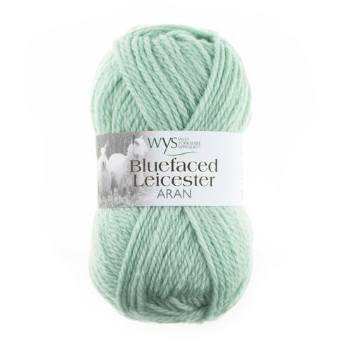*Sage Green* Bluefaced Leicaster ARAN