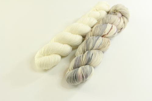"*Set 2* Strickset Tuch ""summerwings"""