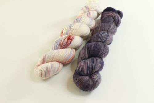 "*Set 3* Strickset Tuch ""summerwings"""