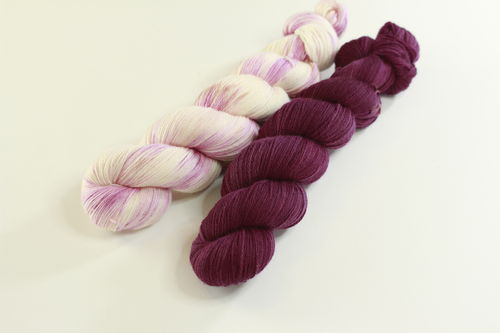 "*Set 4* Strickset Tuch ""summerwings"""
