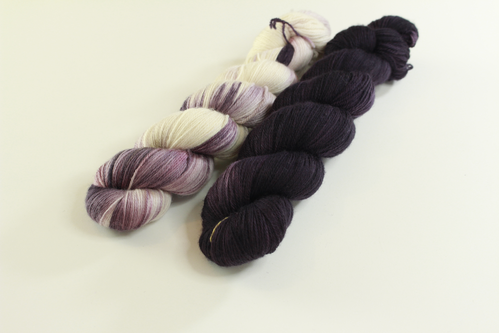 "*Set 5* Strickset Tuch ""summerwings"""