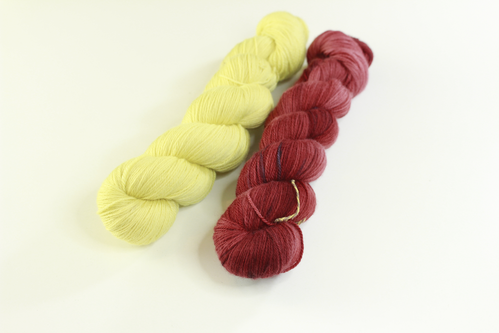 "*Set 8* Strickset Tuch ""summerwings"""