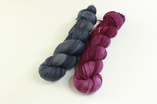 "*Set 9* Strickset Tuch ""summerwings"""