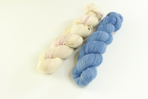 "*Set 10* Strickset Tuch ""summerwings"""
