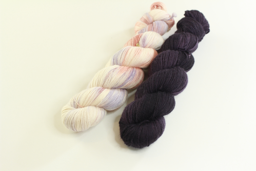 "*Set 15* Strickset Tuch ""summerwings"""
