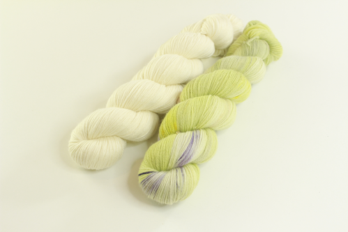 "*Set 19* Strickset Tuch ""summerwings"""